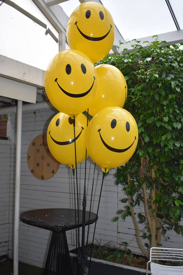 Smiley Balloons - Permanent Balloons