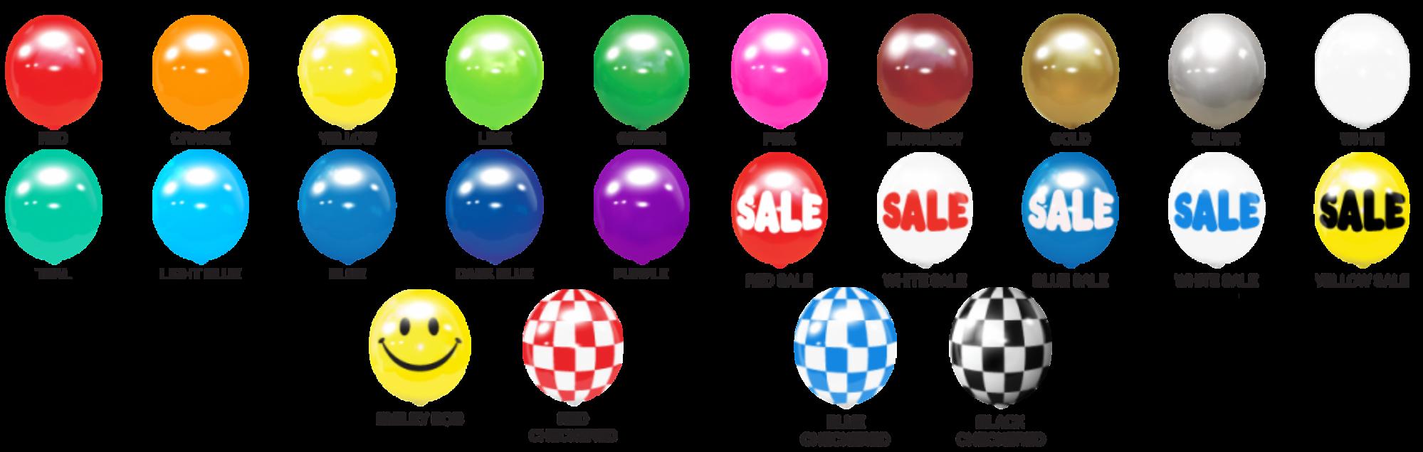 Balloontree Australia Colours