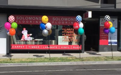 Permanent Balloon Displays for Your Business