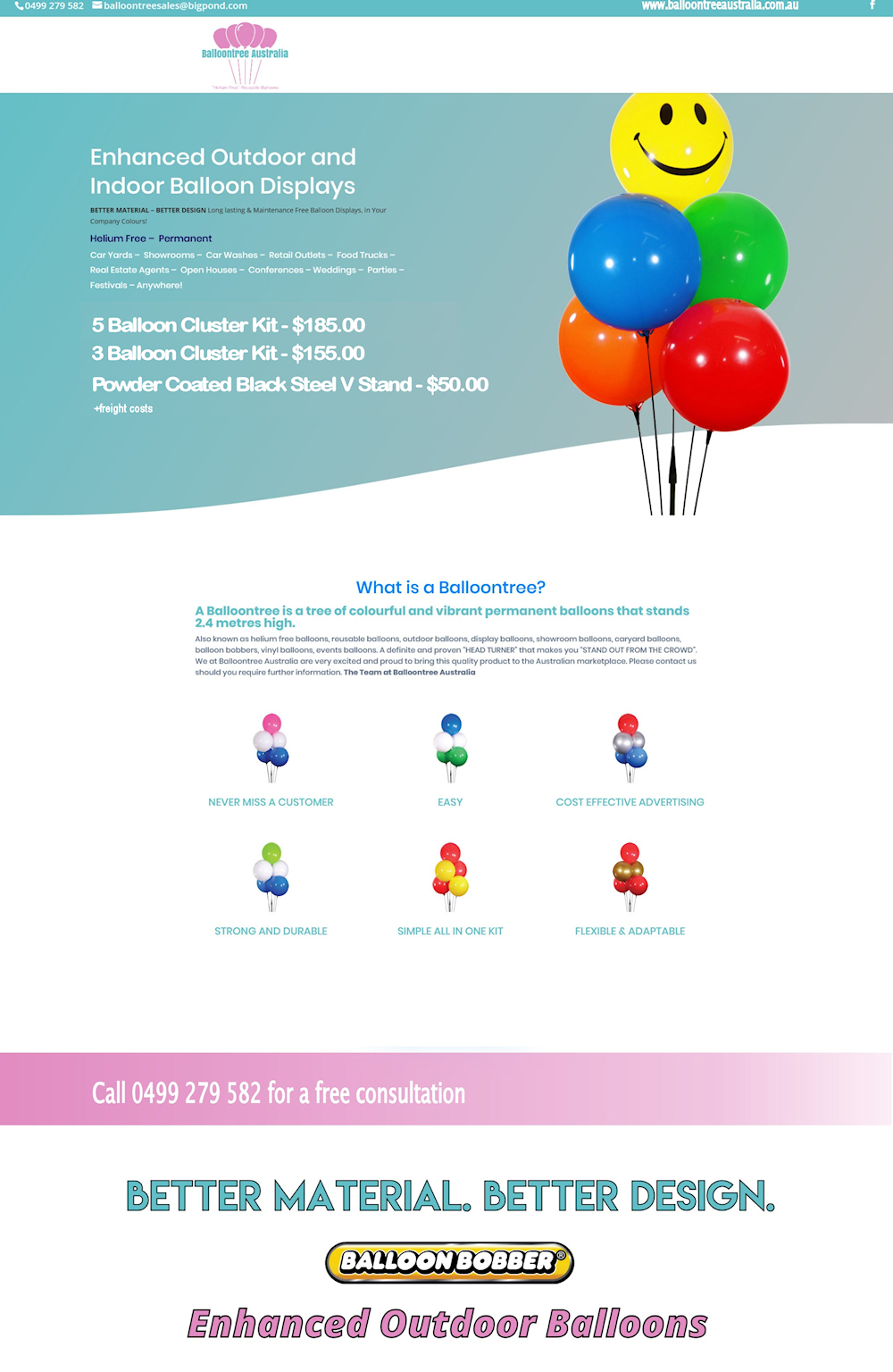Balloontree Australia Permanent Balloons